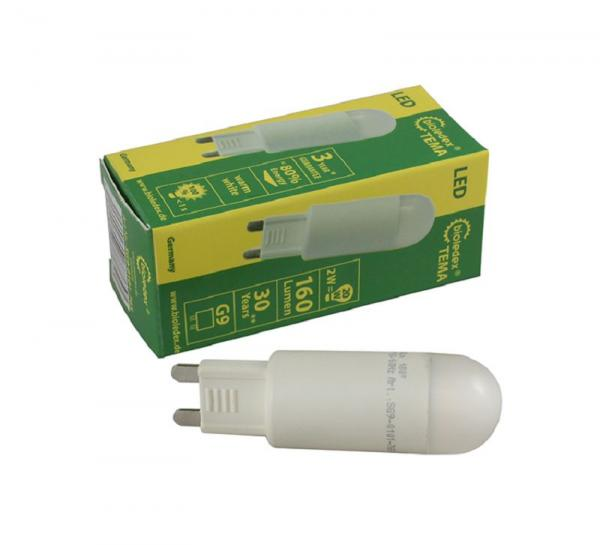 Bioledex LED Lampe G9 2W 160Lm Kompakt Warmweiss